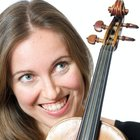 Violin teacher teaches in Madrid center