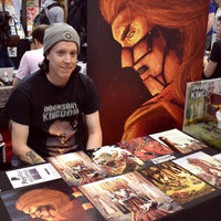 Comic book artist teaching the basics of storytelling, drawing and colouring for published comics or illustration.