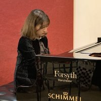 Concert pianist studying at rcm and 2 years teaching experience in manchester