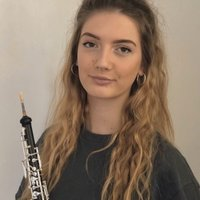 Conservatoire student offering online tuition for oboe, cor anglais and music theory for all ages and abilities.
