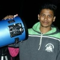 Doing amateur Astronomy since 3 years, Experienced in practical astronomy and online Astronomy teaching also.