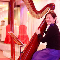 Experienced harp teacher and performer. Student age range from 3 to 50. Enjoy your harpy time~