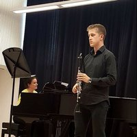 Experienced young clarinet teacher, wanting to share his passion for music and the clarinet itself.