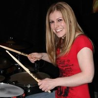 Female teacher gives drum and piano lessons in stevenage and surrounding areas