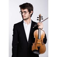 A French violinist studying at the guildhall school of music and drama offering lessons