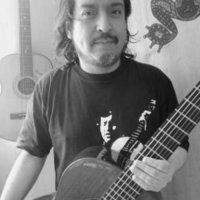 From Chile , Latin american and Classical guitar tuition , Diploma RSAMD , postgraduate RSAMD .