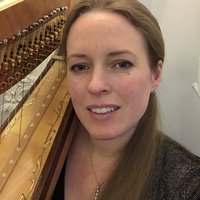 Harriet Adie, professional harpist and experienced, sought after harp teacher based in Battersea, London