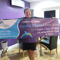 I have been teaching swimming for 14 years. And every day is a rewarding challenge. I teach adult and children from 3 years old. I love seeing everyone progress and enjoy their time in the water. If y