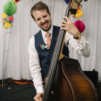 Jazz bass guitar and double bass graduate available in Wells and surrounding areas