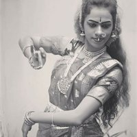 Master's student who has been trained professionally for 15 years in Indian classical dance(Kuchipudi)