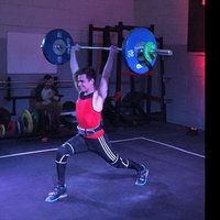 Nationally ranked Olympic weightlifter, with experience in weightlifting nutrition and exercise science