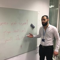 Online Arabic lessons with a professional native Arabic tutor (MSA and Palestinian dialect).