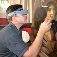 Painting and conservation techniques in the field of old masters and moderns