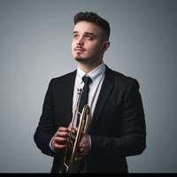I am a professional Trumpet player trained in trumpet performance (Jazz) and music theory at Leeds College of Music.