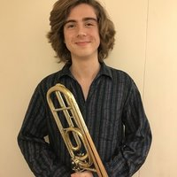 Trombone/Euphonium teacher, currently studying at the Guildhall School of Music and Drama